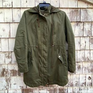 Divided By H&M Green Parka